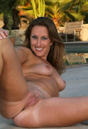 Busty mature strips down before tugging pov 8
